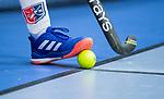 ROTTERDAM  - NK Zaalhockey,   halve finale heren Oranje Rood-SCHC (SCHC wint en plaatst zich voor de finale)  stock, illustratie, zaal, adidas, grays,illustratief, illustratie,      COPYRIGHT KOEN SUYK