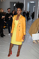 Simona Brown<br /> at the Jasper Conran show as part of London Fashion Week, London<br /> <br /> <br /> ©Ash Knotek  D3378  17/02/2018