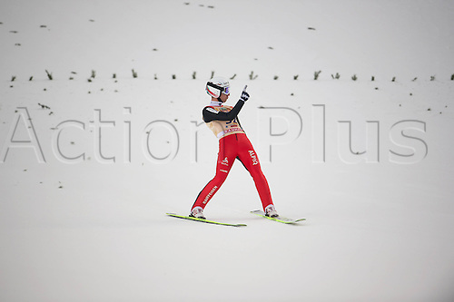 13.12.2013 Titisee-Neustadt Germany. Mens World Cup Ski-Jumping Training and Qualification.AMMANN Simon (SUI)
