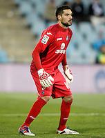 Getafe's Miguel Angel Moya during La Liga match.November 18,2012. (ALTERPHOTOS/Acero) NortePhoto