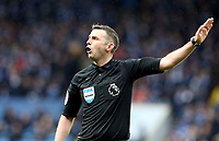 Referee Michael Oliver<br /> <br /> Photographer Rich Linley/CameraSport<br /> <br /> The Premier League - Burnley v Leicester City - Saturday 16th March 2019 - Turf Moor - Burnley<br /> <br /> World Copyright © 2019 CameraSport. All rights reserved. 43 Linden Ave. Countesthorpe. Leicester. England. LE8 5PG - Tel: +44 (0) 116 277 4147 - admin@camerasport.com - www.camerasport.com