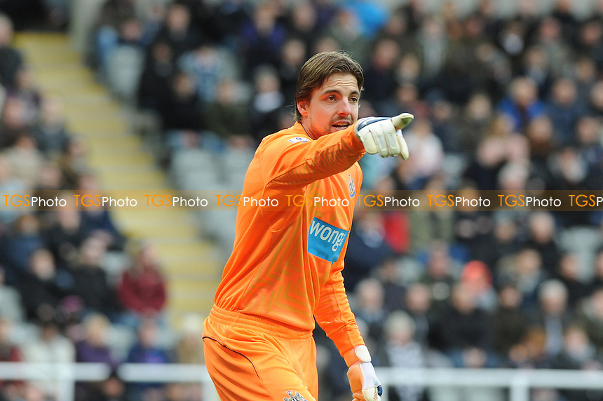 Tim Krul of Newcastle United - Newcastle United vs Arsenal - Barclays Premier League Football at St James Park, Newcastle upon Tyne - 21/03/15 - MANDATORY CREDIT: Steven White/TGSPHOTO - Self billing applies where appropriate - contact@tgsphoto.co.uk - NO UNPAID USE