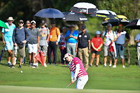 PATTAYA, THAILAND - FEBRUARY 22: Ariya Jutanugarn of Thailand pitching onto the 2nd green during the second round of the Honda LPGA Thailand 2019 at Siam Country Club Pattaya (Old Course), Pattaya, Thailand on February 22, 2019.<br /> .<br /> .<br /> .<br /> (Photo by: Naratip Golf Srisupab/SEALs Sports Images)<br /> .<br /> Any image use must include a mandatory credit line adjacent to the content which should read: Naratip Golf Srisupab/SEALs Sports Images