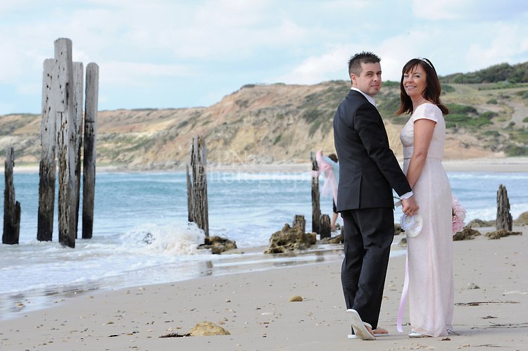 Stunning location for a wedding at Port Willunga the weather,amazing bride and groom made it a day to remember.