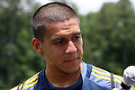 28 May 2012: Rafael Garcia. The Los Angeles Galaxy held a training session on Field 6 at WakeMed Soccer Park in Cary, NC the day before playing in a 2012 Lamar Hunt U.S. Open Cup third round game.