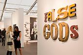 London, England. 14 October 2014. Frieze Art Fair 2014 opens in Regent's Park, London. Photo: Bettina Strenske