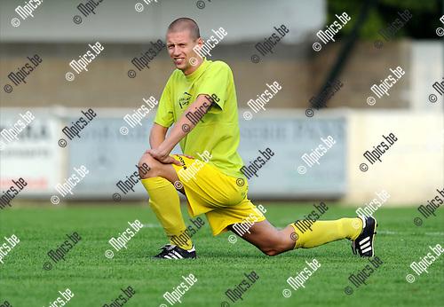 2011-07-28 / Voetbal / seizoen 2011-2012 / Sint Lenaarts / Kenny Geudens..Foto: mpics