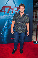 Los Angeles, CA - AUGUST 13th: <br /> Luke Hemsworth attends the 47 Meters Down: Uncaged premiere at the Regency Village Theater on August 13th 2019. Credit: Tony Forte/MediaPunch