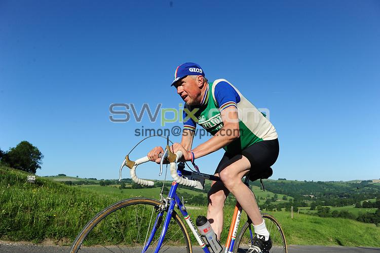 Picture by Simon Wilkinson/SWpix.com - 18/06/2017 - Cycling -  Eroica Britannia 2017 Festival - Peak District Derbyshire