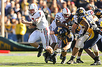 2 December 2006: Toby Gerhart during Stanford's 26-17 loss to Cal in the 109th Big Game at Memorial Stadium in Berkeley, CA.