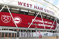 1st February 2020; London Stadium, London, England; English Premier League Football, West Ham United versus Brighton and Hove Albion; General view of the London Stadium ahead of the match between West Ham United and Brighton and Hove Albion