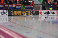 SPEEDSKATING: HAMAR: Vikingskipet, 29-02-2020, ISU World Speed Skating Championships, Sprint, 1000m Ladies, Xin Zhao (CHN), Qishi Li (CHN), ©photo Martin de Jong