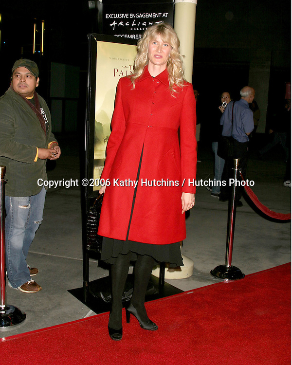 "Laura Dern.Los Angeles Premiere of ""The Painted Veil"".ArcLight Theater.Los Angeles, CA.December 13, 2006.©2006 Kathy Hutchins / Hutchins Photo."