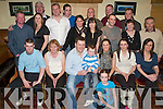 30TH SURPRISE: Damien (Doc) O'Connor, Ballymac got a nice surprise on Saturday night when he walked into O'Riada's Bar & Restaurant to a surprise 30th birthday party organised by his family and friends. Front: Shelly Reidy. Seated l-r: Gary, Catherine, Damien and Jason O'Connor, Hanna Reidy, Emer and Tina O'Connor. Back l-r: Dominic McEllister, Brendan O'Connor, Fiona Walsh, David Lane, Thomas Dunne, Mags Riordan, Stephen Riordan, Maire Reidy, Edward Horgan, Denny Reidy, John Riordan, Maura and Willie Reidy.   Copyright Kerry's Eye 2008