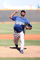 Gustavo Gomez - Los Angeles Dodgers - 2010 Instructional League.Photo by:  Bill Mitchell/Four Seam Images..