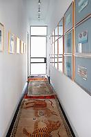 Paintings in corridor