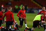 Reece Brown of Sheffield Utd  warms up during the League One match at Bramall Lane Stadium, Sheffield. Picture date: September 27th, 2016. Pic Simon Bellis/Sportimage