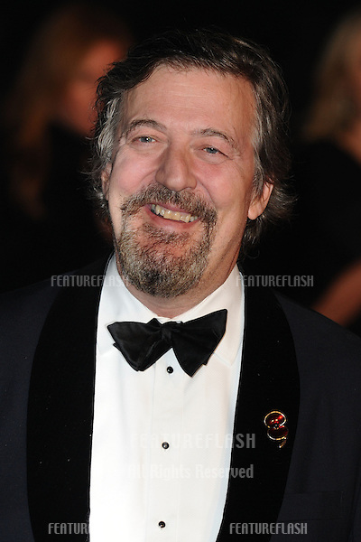 """Stephen Fry arriving for the """"Skyfall"""" world premiere after party at the Tate Modern, London. 23/10/2012 Picture by: Steve Vas / Featureflash"""