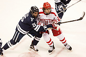 Chris Izmirlian (Yale - 25), Patrick Curry (BU - 11) The Boston University Terriers defeated the visiting Yale University Bulldogs 5-2 on Tuesday, December 13, 2016, at the Agganis Arena in Boston, Massachusetts.