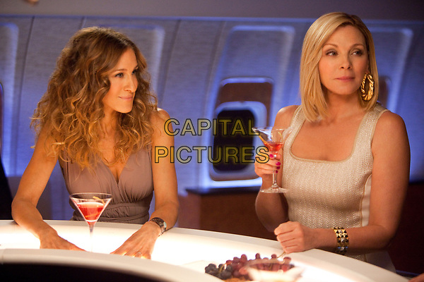 Sex and the City 2 (2010) <br /> Sarah Jessica Parker &amp; Kim Cattrall<br /> *Filmstill - Editorial Use Only*<br /> CAP/MFS<br /> Image supplied by Capital Pictures
