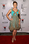 ANNE JUDSON-YAGER. Arrivals to the LA Rocks Fashion Show, featuring the Lauren Elaine Fall 2010 Collection Debut at the Key Club. West Hollywood, CA, USA. March 22, 2010.