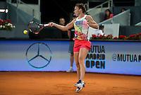 Romanian Simona Halep during Mutua Madrid Open Tennis 2016 in Madrid,  May 2, 2016. (ALTERPHOTOS/BorjaB.Hojas) /NortePhoto.com