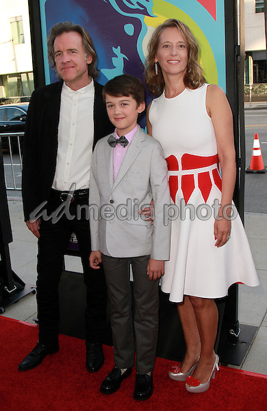 02, June 2015 - Beverly Hills, California -  Bill Pohlad, Oliver Pohlad, Michelle Pohlad arrives] at the 'Love & Mercy' Los Angeles premiere at the Samuel Goldwyn Theater in Beverly Hills, California. Photo Credit: Theresa Bouche/AdMedia