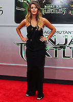 WESTWOOD, LOS ANGELES, CA, USA - AUGUST 03: Moxie Raia at the Los Angeles Premiere Of Paramount Pictures' 'Teenage Mutant Ninja Turtles' held at Regency Village Theatre on August 3, 2014 in Westwood, Los Angeles, California, United States. (Photo by Celebrity Monitor)