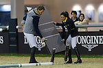 Master Class with Henrick Von Eckermann at the Paddock during the Longines Masters of Hong Kong on 20 February 2016 at the Asia World Expo in Hong Kong, China. Photo by Juan Manuel Serrano / Power Sport Images