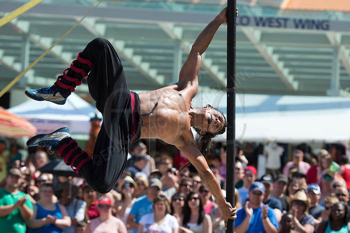 Edmonton International Street Performers Festival 2012. Photo by Marc Chalifoux.