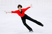 24th March 2018, Mediolanum Forum, Milan, Italy;  Kazuki Tomono (JPN), MARCH 24, 2018 - Figure Skating : ISU World Figure Skating Championship  Men's Free Skating at Mediolanum Forum in Milan, Italy.