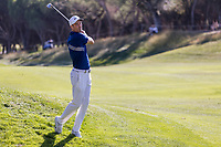 Ross Fisher (ENG) during the third round of the Mutuactivos Open de Espana, Club de Campo Villa de Madrid, Madrid, Madrid, Spain. 05/10/2019.<br /> Picture Hugo Alcalde / Golffile.ie<br /> <br /> All photo usage must carry mandatory copyright credit (© Golffile | Hugo Alcalde)