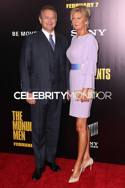 "NEW YORK, NY - FEBRUARY 04: Hugh Bonneville, Lulu Williams at the New York Premiere Of Columbia Pictures' ""The Monuments Men"" held at Ziegfeld Theater on February 4, 2014 in New York City, New York. (Photo by Jeffery Duran/Celebrity Monitor)"