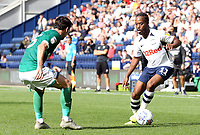 Preston North End's Daniel Johnson looks to take on Sheffield Wednesday's Kieran Lee<br /> <br /> Photographer Rich Linley/CameraSport<br /> <br /> The EFL Championship - Preston North End v Sheffield Wednesday - Saturday August 24th 2019 - Deepdale Stadium - Preston<br /> <br /> World Copyright © 2019 CameraSport. All rights reserved. 43 Linden Ave. Countesthorpe. Leicester. England. LE8 5PG - Tel: +44 (0) 116 277 4147 - admin@camerasport.com - www.camerasport.com