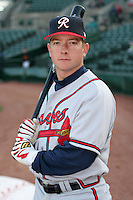 Richmond Braves Jonathan Schuerholz during an International League game at Frontier Field on April 17, 2006 in Rochester, New York.  (Mike Janes/Four Seam Images)