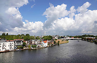 Nederland - Zaandam- 2019. Wonen aan de Zaan in Zaandam. De Bernhardbrug. Foto Berlinda van Dam / Hollandse Hoogte
