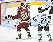 Andrew Orpik - The Boston College Eagles defeated the University of North Dakota Fighting Sioux 6-5 on Thursday, April 6, 2006, in the 2006 Frozen Four afternoon Semi-Final at the Bradley Center in Milwaukee, Wisconsin.