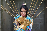 Zhang He Cosplay from Dynasty Warriors, Emerald City Comicon, Seattle, WA, USA.