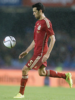 Spain's Sergio Busquets during international friendly match.November 18,2014. (ALTERPHOTOS/Acero) /NortePhoto<br /> NortePhoto.com