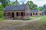The Slave cabins at Boone Hall Plantation, Mt. Pleasant, SC