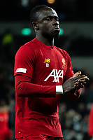Liverpool's Sadio Mane during the pre-match warm up<br /> <br /> Photographer Stephanie Meek/CameraSport<br /> <br /> The Premier League - Tottenham Hotspur v Liverpool - Saturday 11th January 2020 - Tottenham Hotspur Stadium - London<br /> <br /> World Copyright © 2020 CameraSport. All rights reserved. 43 Linden Ave. Countesthorpe. Leicester. England. LE8 5PG - Tel: +44 (0) 116 277 4147 - admin@camerasport.com - www.camerasport.com