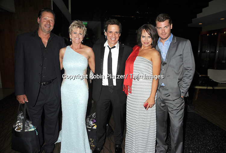 Michael Sabatino, Judi Evans, Christian Leblanc, Crystal Chappell and Jeff Branson attend the  39th Annual Daytime Emmy Awards CBS after party  on June 23, 2012 at the Beverly Hilton in Beverly Hills, California. The awards were broadcast on HLN.