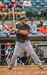 22 March 2015: Pittsburgh Pirates infielder Brent Morel in Spring Training action against the Houston Astros at Osceola County Stadium in Kissimmee, Florida. The Astros defeated the Pirates 14-2 in Grapefruit League play. Mandatory Credit: Ed Wolfstein Photo *** RAW (NEF) Image File Available ***