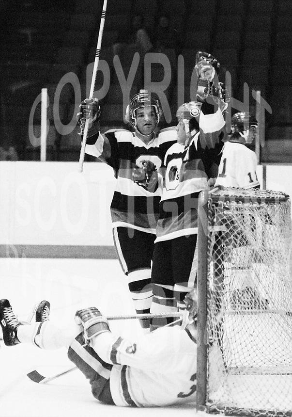 Sean Simpson Yvan Joly Ottawa 67's 1978. Photo Scott Grant