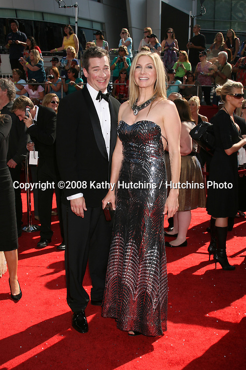 Elizabeth Mitchell.arriving at the Primetime Emmys at the Nokia Theater in Los Angeles, CA on.September 21, 2008.©2008 Kathy Hutchins / Hutchins Photo....