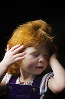 Anna Dodds, 3, from Edinburgh.<br /> <br /> 'It's orange, like oranges. Daddy is orange. Its fine. Nan has it.'