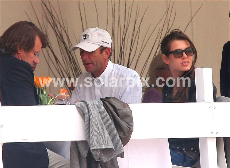 **ALL ROUND PICTURES FROM SOLARPIX.COM**.**SYNDICATION RIGHTS FOR UK, ASIA, AUSTRALIA, CANADA, DUBAI, GREECE, NEW ZEALAND, RUSSIA, SOUTH AFRICA, SOUTH AMERICA, AND USA**.Charlotte Casiraghi,Princess Elena of Spain & Athena Onasis attend  the  the GP Horse trials in Valencia, eastern Spain as part of the Global Champions Tour...This pic:Carlota Casiragui..JOB REF: 8974      SPA     DATE:10.05.09.**MUST CREDIT SOLARPIX.COM OR DOUBLE FEE WILL BE CHARGED**.**ONLINE USAGE FEE GBP 50.00 PER PICTURE - NOTIFICATION OF USAGE TO PHOTO @ SOLARPIX.COM**.**CALL SOLARPIX : +34 952 811 768 or LOW RATE FROM UK 0844 617 7637**