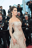 CANNES, FRANCE - MAY 18: Alessandra Ambrosio attends the screening of 'The Wild Pear Tree (Ahlat Agaci)'  during the 71st annual Cannes Film Festival at Palais des Festivals on May 18, 2018 in Cannes, France. <br /> <br /> Picture: Kristina Afanasyeva/Featureflash/SilverHub 0208 004 5359 sales@silverhubmedia.com