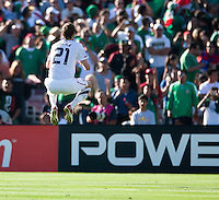 PASADENA, CA – June 25, 2011: USA player Clarence Goodson (21) during the Gold Cup Final match between USA and Mexico at the Rose Bowl in Pasadena, California. Final score USA 2 and Mexico 4.