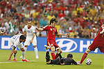 David Silva (ESP), JUNE 18, 2014 - Football / Soccer : FIFA World Cup Brazil<br /> match between Spain and Chile at the Maracana Stadium in Rio de Janeiro, Brazil. (Photo by AFLO)